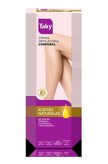 crema depilatoria corporal aceites naturales