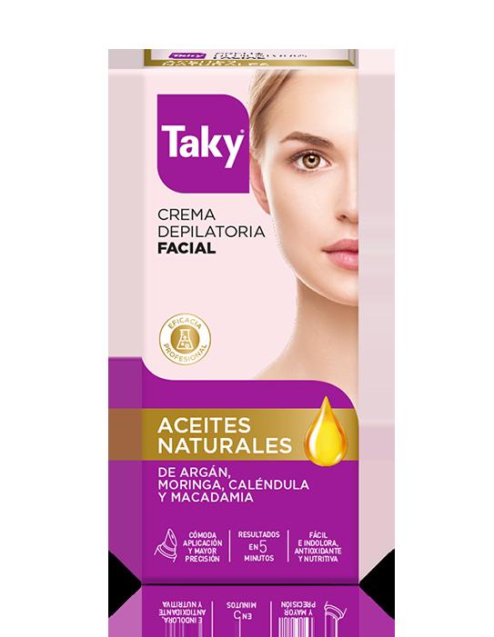 crema depilatoria facial aceites naturales